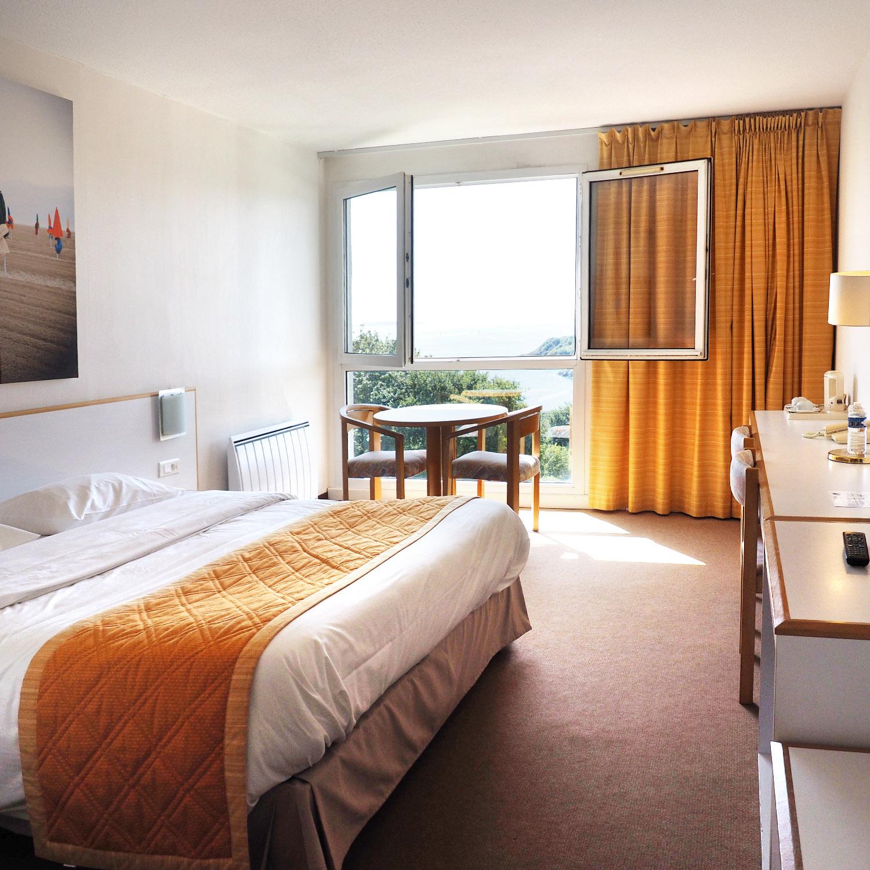 Hôtel Belvédère Brest chambre vue mer