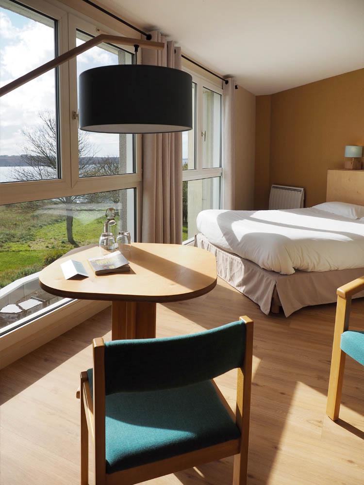 Chambre hôtel Belvédère Brest